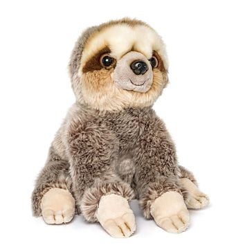12 Inch Sloth Stuffed Animal Plush Floppy Animal Kingdom Collection