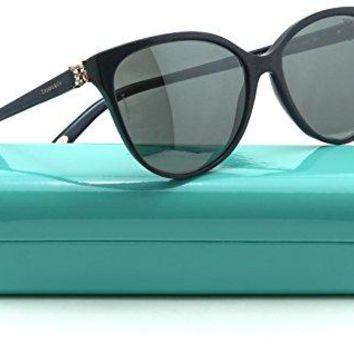 Tiffany & Co. TF 4089 B Women Cat Eye Gradient Sunglasses 82116G