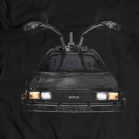 DeLorean DMC-12 Back to the Future T-Shirt Gift Idea 100% Cotton