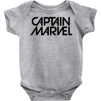 captain marvel 5 Baby Bodysuit