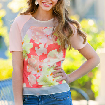 Peach for Perfection Blouse