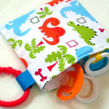Pacifier Pouch Reusable Kids Zipper Snack Bag With by TheClubHouse