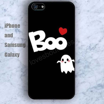 boo heart red pattern colorful iPhone 5/5S case Ipod Silicone plastic Phone cover Waterproof