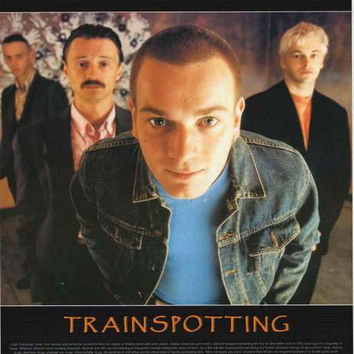 Trainspotting Film Review Poster 24x34