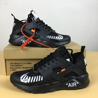 OFF WHITE x Nike Air Huarache Ultra AA3841-001 39-44