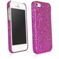 BoxWave Glamour & Glitz iPhone 5s / 5 Case - Pretty, Sparkly Glitter Case, Colorful Girly Sparkle Cover for Your Apple iPhone 5s / 5 - Apple iPhone 5s / 5 Cases and Covers (Cosmo Pink):Amazon:Cell Phones & Accessories