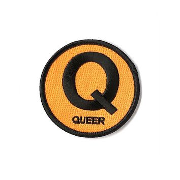Queer Q Subway Sign Patch