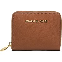 MICHAEL MICHAEL KORS - Small saffiano leather wallet | Selfridges.com
