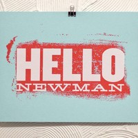 Hello Newman by timmelideo on Etsy