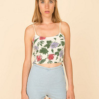 California Select Original Roses Wool Tank