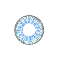 Circle lenses EYEWISH  -   Fireworks (Blue)