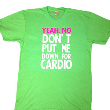 Pitch Perfect - Neon T-shirt - Womens Fitness Clothing - Workout shirt - Fitness Shirt