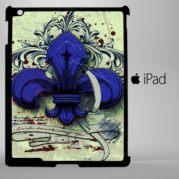 French Fleur De Lis iPad 2, iPad 3, iPad 4, iPad Mini and iPad Air Cases - iPad