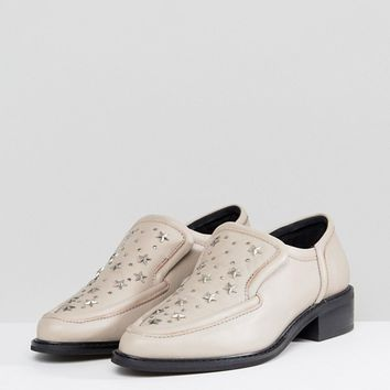 Sol Sana Nancy Nude Star Studded Flat Shoes at asos.com
