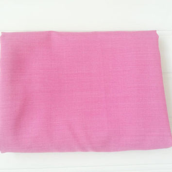 Pink throw, cotton throw, throw blanket, throw over, bright pink, cotton blanket, bedspread, picnic blanket, beach blanket, bedroom linen
