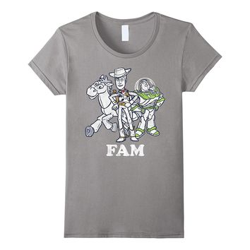 Disney Toy Story Buzz and Woody Family Graphic T-Shirt
