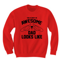 Awesome Dad Sweatshirt