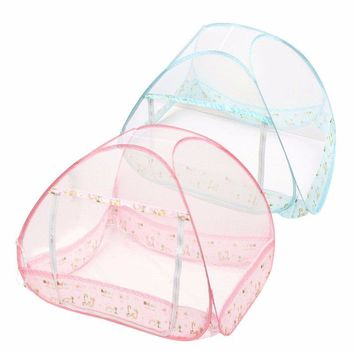 Bedding Canopy Mosquito Net Folding Mesh Tent For Baby Bed Crib Hut Net 100x80cm