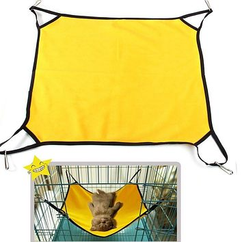 Pet Bed For Dog/Cat/Kitten/Ferrets/Guinea Pigs Ectpet Hammock Kitten Sleep Bed With Polar Fleece Material