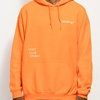 Post Malone Stoney Big Buck Hunt Club Orange Hoodie | Zumiez
