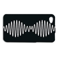 Arctic Monkeys Phone Case Cute Sound Wave iPhone iPod Black White Album Cover