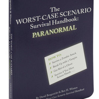 The Worst-Case Scenario Survival Handbook: Paranormal | Mod Retro Vintage Books | ModCloth.com $15
