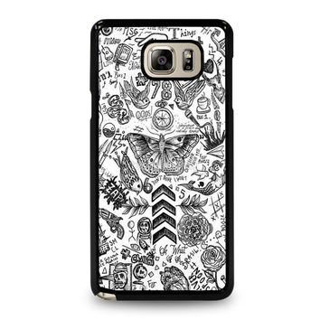 ONE DIRECTION TATTOOS Samsung Galaxy Note 5 Case
