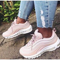 NIKE AIR MAX 97 Trending Women Men Personality Movement Running Shoes Sneakers I
