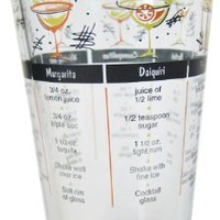 Cocktail Mixing Glass with Drink Recipes:Amazon:Kitchen & Dining