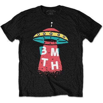 Bring Me The Horizon Men's  Alien T-shirt Black