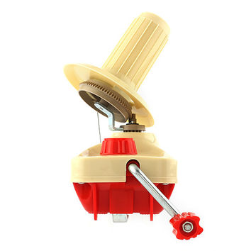 Hand Operated Swift Wool Yarn Ball Winder Machine
