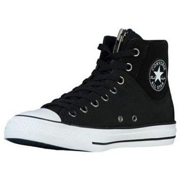 Converse All Star Sneakers Shoes MA-1 ZIP HIGH TOP BOOT Black/White 149398C Mens 4.5 / Womens 6.5