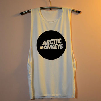 Arctic Monkeys Shirt Muscle Tee Muscle Tank Top TShirt Unisex - size S M L