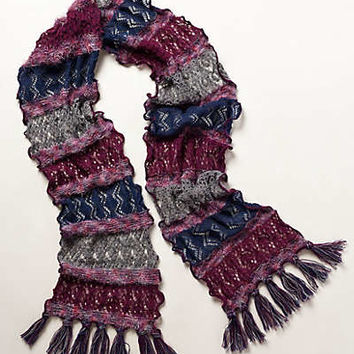 Far-Flung Patchwork Scarf