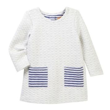Harper Canyon | Knit Quilted Dress (Baby Girls)