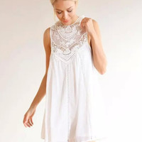 Gypsy Lace Shift Dress | The Handmade Hustle