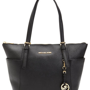 MICHAEL Michael Kors Jet Set East West Top Zip Large Tote | macys.com