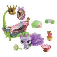 Disney Princess Palace Pets Beauty and Bliss Tiana's Kitty Lily Playset