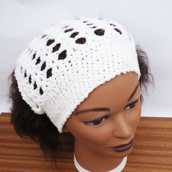 Crochet Headband, Crochet Kerchief, Earwarmer, Women Accessories, UK ...