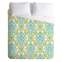 Rebekah Ginda Design Lovely Damask Duvet Cover