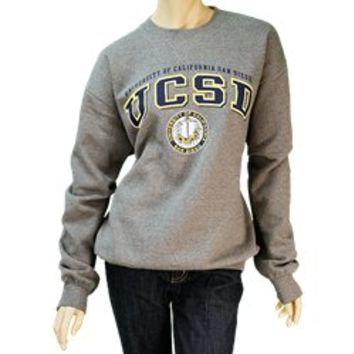 UC San Diego Bookstore - UCSD Classic Crew Sweatshirt by Gear for Sports