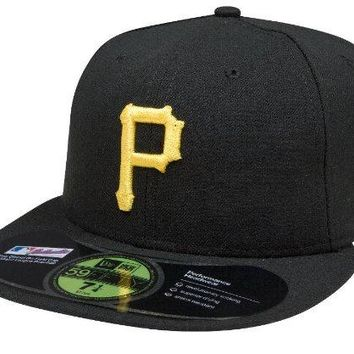 MLB Pittsburgh Pirates Game AC On Field 59Fifty Fitted Cap