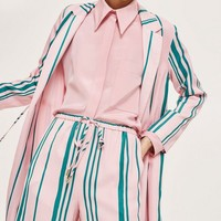 Striped Duster Coat | Topshop