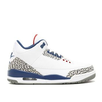 "AIR JORDAN RETRO 3 OG ""TRUE BLUE 2016 RELEASE"""