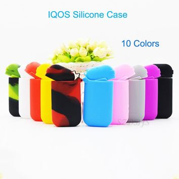 10 Colors Soft Hand Feel Thicker IQOS Case for IQOS 2.4 Plus Silicone Case Sleeve Protective Cigarette Case Cover