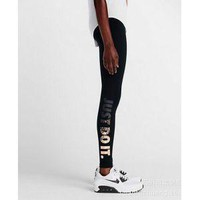 NIKE LEG-A-SEE JUST DO IT METAL WOMEN RUNNING TIGHTS