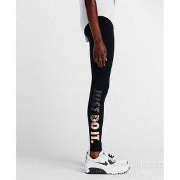 nike leg a see just do it metal women running tights