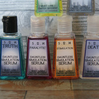 Divergent Inspired Party Favors - 6 mini hand sanitizers