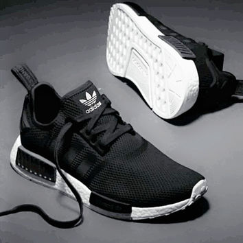 black shoes adidas