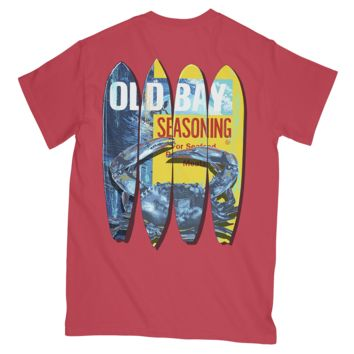 *PRE-ORDER* Old Bay and Crab Surfboards (Paprika) / Shirt (Ship Date: 5/25)